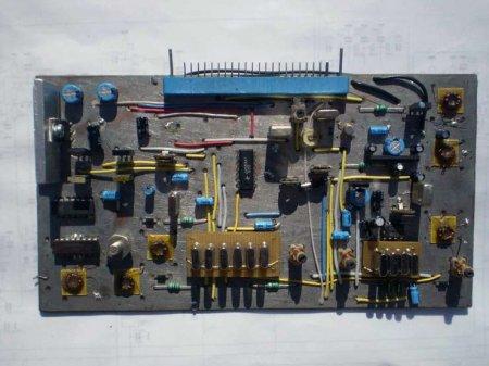 Основная плата КВ-трансивера UR4QBP