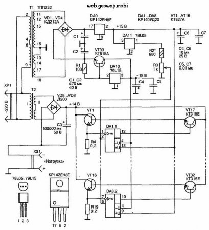 Стабилизатор тока на 100...200 А