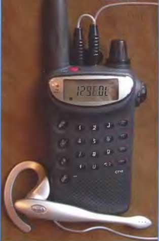 Микрофонная гарнитура для носимой радиостанции