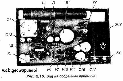 Приемник прямого усиления с полевыми транзисторами