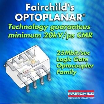 Fairchild представляет высокоскоростной оптрон