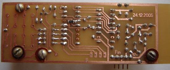 Синтезатор частоты для радиовещательного ЧМ-FM приемника на LM7001J + PIC16F84A