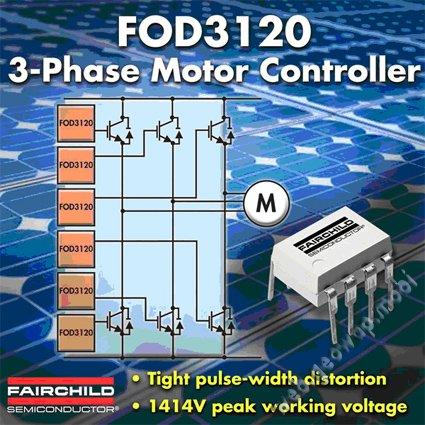 Оптроны с лучшим подавлением синфазной помехи от Fairchild Semiconductor