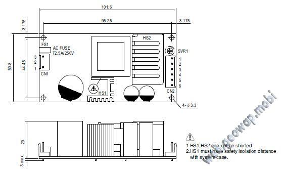 Источники питания серии PSC-60 с функцией UPS от MeanWell