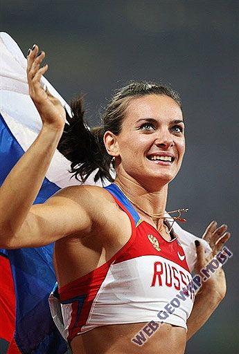 Елена Исинбаева во второй раз кряду признана лучшей спортсменкой планеты