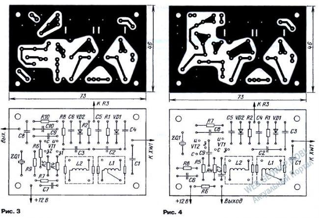 Конвертеры 21/28 МГц к приемникам диапазона 80 метров